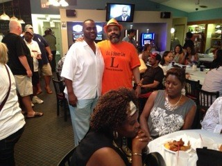 Mark Lee '85 at the July 26th fundraiser honoring his fallen brothers, Eric and Steven Lee